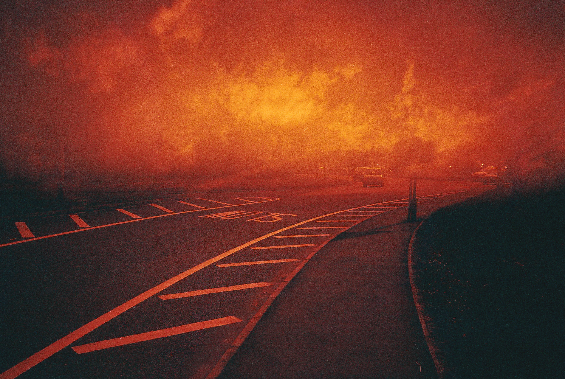 LIGHTLEAKS red skies LIGHT LEAKS  Image of red skies